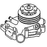 John Deere Pump Water Part No: A-RE22725
