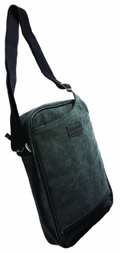 Krusell 71231 Uppsala Messenger Bag in Eco-friendly Canvas for iPad Air, Google Nexus 10, Sony Xperia Z, MacBook Air 11-inch and Other