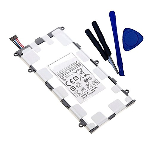 Toopower New 4000mAh 14.8Wh SP4960C3B Battery Replacement for Samsung Galaxy Tab 2 7.0 GT-P3100 GT-P3110 GT-P3113 GT-P6200 P6208 P6201 GSCH-I700 SCH I700 I705 +Free Tools