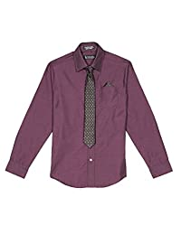 Steve Harvey boys Big Boys Shirt and Tie Set