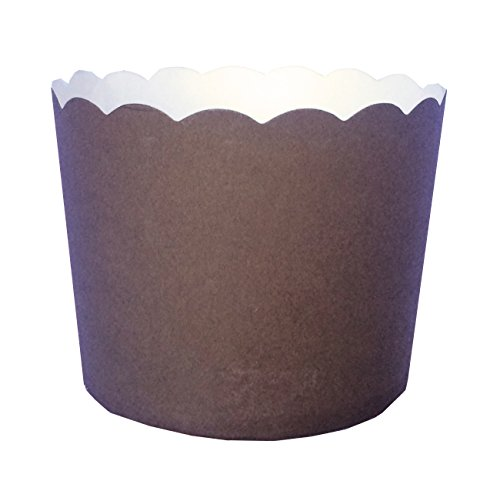 ice cream cups brown - 6