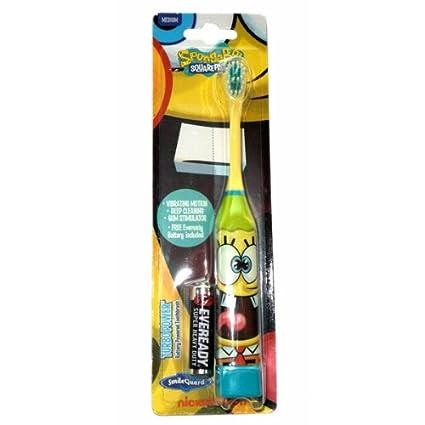 Higiene Dental y Tiritas TB‐407‐01 - Cepillo de dientes eléctrico Bob Esponja