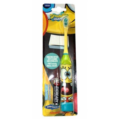 Higiene Dental y Tiritas TB‐407‐01 - Cepillo de dientes eléctrico Bob Esponja Grosvenor TB-407-01