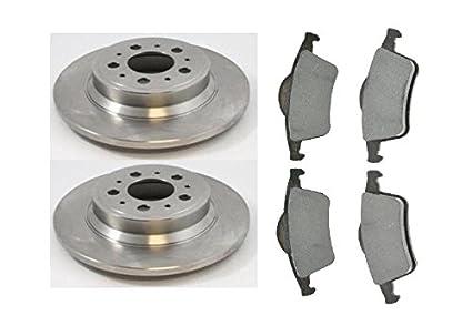 For Volvo S60 S80 V70 XC70 Front /& Rear Brake Disc Rotors /& Brake Pads Kit
