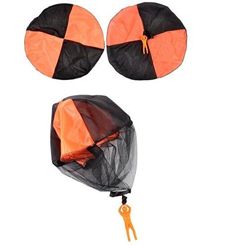 KINGSUNG 4 PCS Children Parachute Toy Hand Parachuter Parachute