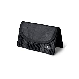 "Highly Rated! Running Buddy - ""Buddy Pouch"" Black (6""L x 4""W) Patented Magnetic Storage Pouch"