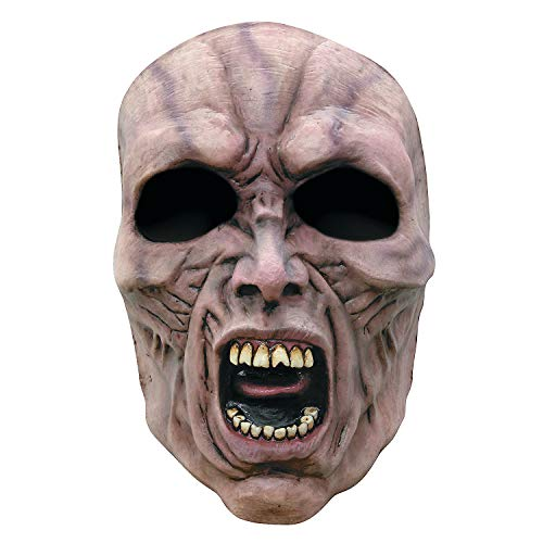 Fun Express - Wwz Face Mask Scream Zombie 2 for Halloween - Apparel Accessories - Costume Accessories - Masks - Halloween - 1 Piece]()