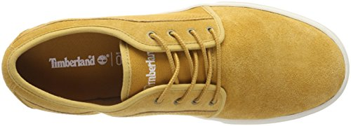 Timberland Herren Dauset Oxfords Gelb (Wheat Suede 231)