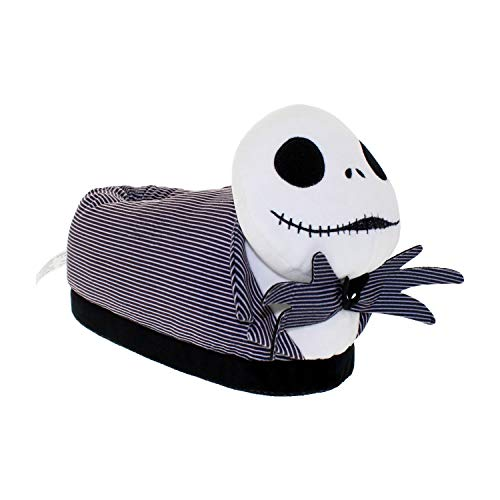 7022-9 - Disney Nightmare Before Christmas - Jack Skellington - X-Small - Happy Feet Mens and Womens Slippers