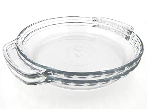 Anchor Hocking 77886 Fire King Deep Pie Baking Dish, 9.5-Inch, Pack of 2