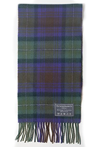 The Tartan Blanket Co. Scottish Lambswool Scarf Isle of Skye Tartan - Scottish Lambswool