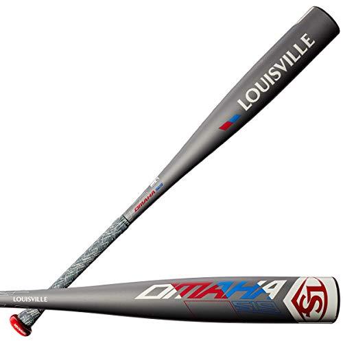 """Louisville Slugger 2019 Omaha 519 (-5) 2 5/8"""" Senior League Baseball Bat, 31""""/26 oz"""