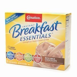 Carnation Instant Breakfast Essentials Milk Chocolate - 1.26 oz packets - 30 Packets by Carnation by Carnation