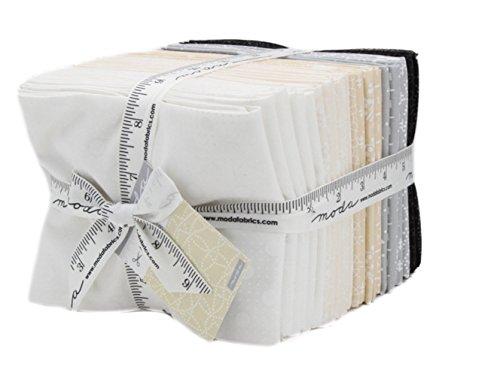 Moda Muslin Mates - Muslin Mates 2018 Fat Quarter Bundle 30 Precut Cotton Fabric Quilting FQs Assortment by Moda Fabrics, 9981AB