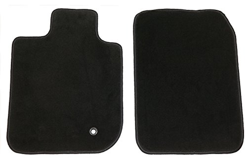 GG Bailey D3336A-F1A-BLK Front Set Custom Fit Floor Mats for Select Jaguar S-Type Models - Nylon Fiber (Black) by GG Bailey