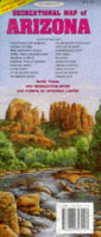 Download Topographic Recreational Map of Arizona pdf epub