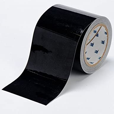 8 Length Blue Pack of 100 per Roll 3 Width Brady ToughStripe Nonabrasive  Direction Arrows Floor Marking Tape
