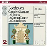 Complete Overtures /12 Minuets/12 German Dances / 12 Contredanses