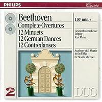 Beethoven Compl Overtures 12 Minuets 12 German Dances