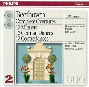 CD : Neville Marriner - Complete Overtures (CD)