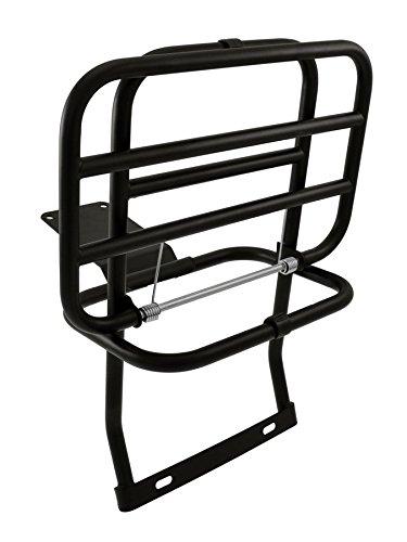 RMS Portapacco posteriore nero vespa px-lml (Portapacchi Vespa) / Rear carrier black Piaggio Vespa Px-Lml (Vespa Carrier Rack)