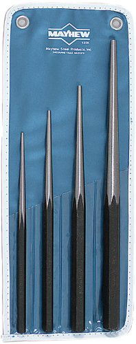 - Wright Tool 9664 Mayhew #125K Line Up Punch Kit, 4-Piece