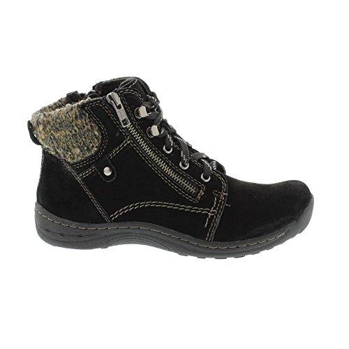Jord Ande Denver - Svart (läder) Womens Boots