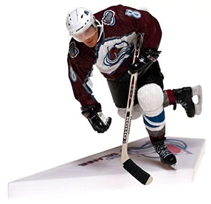 low priced ae4a6 c78fc McFarlane Toys NHL Sports Picks Series 6 Action Figure: Teemu Selanne  (Colorado Avalanche) White Jersey