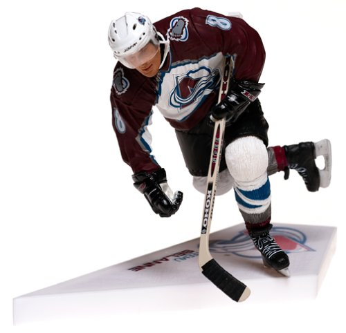 (McFarlane Toys NHL Sports Picks Series 6 Action Figure: Teemu Selanne (Colorado Avalanche) White Jersey)