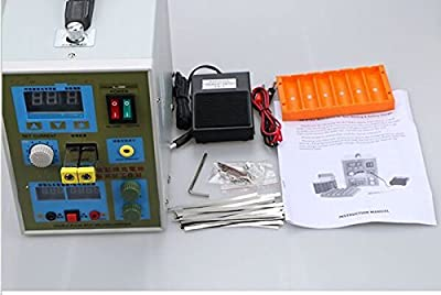 welljoin 788H Battery Pack Spot Welder Welding Machine & Battery Charger 110V