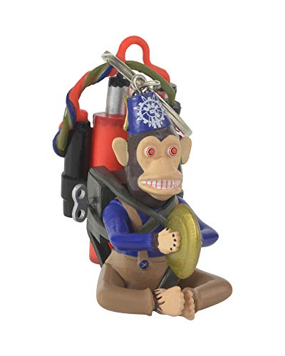 Call of Duty Official 3D Monkey Bomb Keyring/Keychain