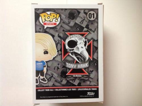 Amazon.com: Tony Hawk Signed Autographed Birdhouse Funko Pop ...