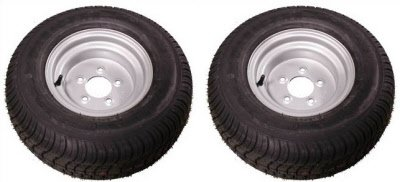 20.5X8-10 (205/65-10) TRITON CLASS C SNOWMOBILE, ATV AND PONTOON TRAILER TIRE - PAIR by Triton