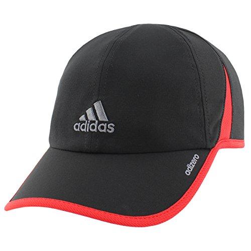 Adidas Mens Adizero Ii Cap  One Size  Black Scarlet Onix