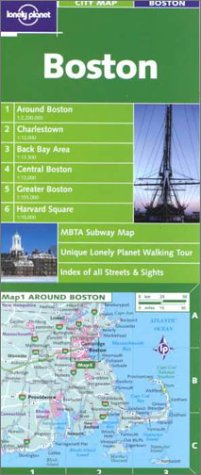 Lonely Planet Boston City Map (LONELY PLANET CITY MAPS)