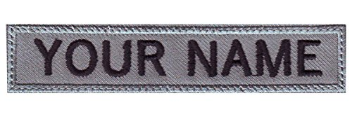 Name Embroidered Patches - 7