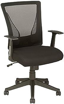 Brenton Studio Radley Mesh/Fabric Mid-Back Task Chair