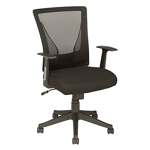 y Mesh Mid-Back Task Chair, Black ()