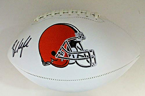 Baker Mayfield Heisman OU Cleveland Browns Historical Autograph Signed Football from city-autograph