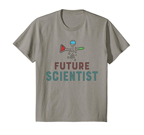 Kids Future Scientist Tee - Science Nerd Gifts for Girls or Boys