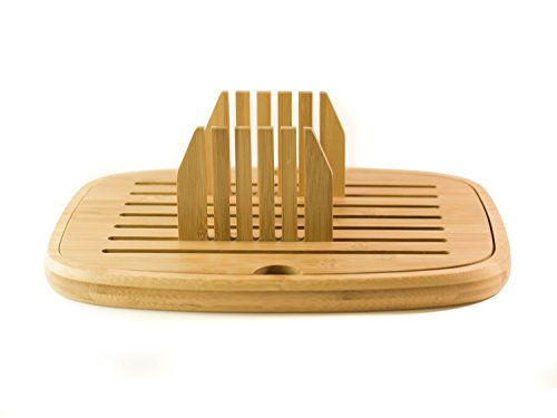Bread Slicer - Bread Cutter - Foldable Bread Slicer | Bamboo Wood | Easy Storage by Sofia's Findings (Image #3)