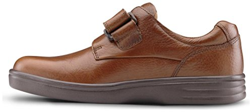 Dr. Comfort Maggy Women's Therapeutic Diabetic Extra Depth Shoe: Chestnut 8 X-Wide (E-2E) Velcro by Dr. Comfort (Image #3)