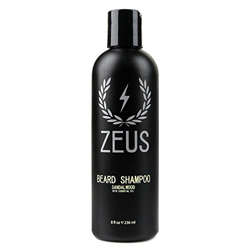 Zeus Deluxe Beard Grooming Kit for Men - Beard Care Gift Set...