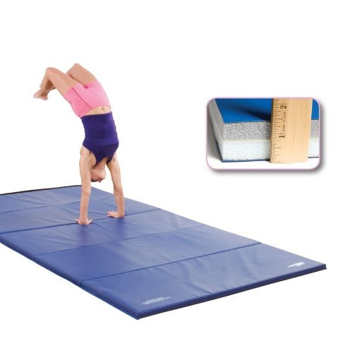 GSC Ultimat Polyethylene Folding Mat W/Velcro Ends - 4 x 8 Foot by Athletic Connection