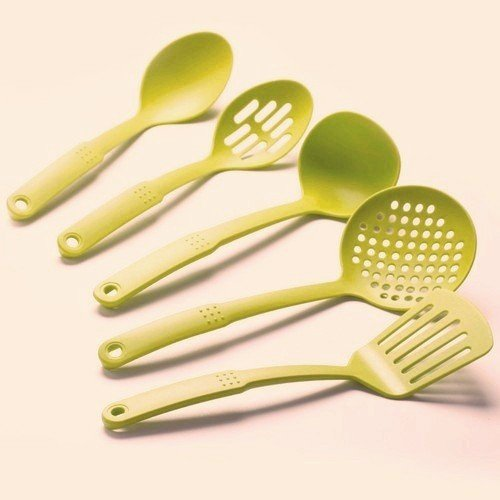 Cook's Corner 5-Piece Nylon Kitchen Utensil Set (Lime Green)