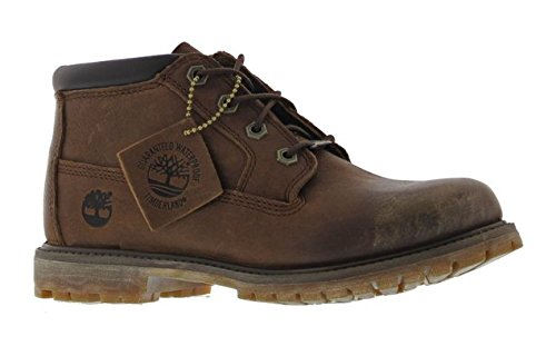 Timberland Women's Nellie Chukka Double Ankle Boots, Black dark brown