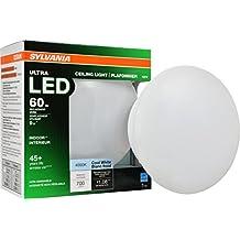 Sylvania 75081 Bright White 4000K 65W Ultra LED Medium Base Retrofit for Ceiling Light Fixtures