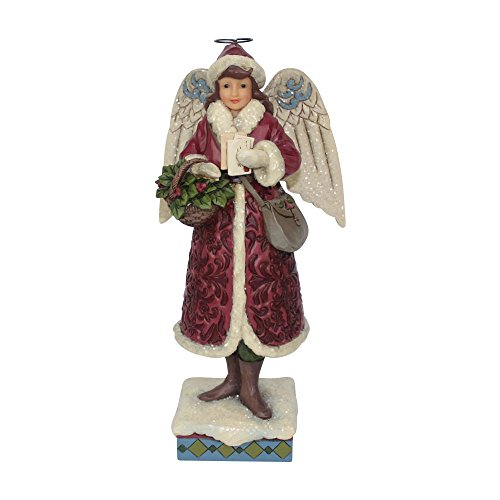 - Enesco Jim Shore Heartwood Creek Victorian Angel with Cards
