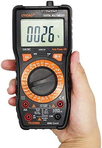 ZYL-YL Mini Multimeter UA19C LCD Digitale Multimeter Tester For Capacitance & Frequency & Temperature Professional Multimeters