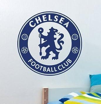Blue Football Team CHELSEA Vinyl Football Fans Wall Stickers Art ...